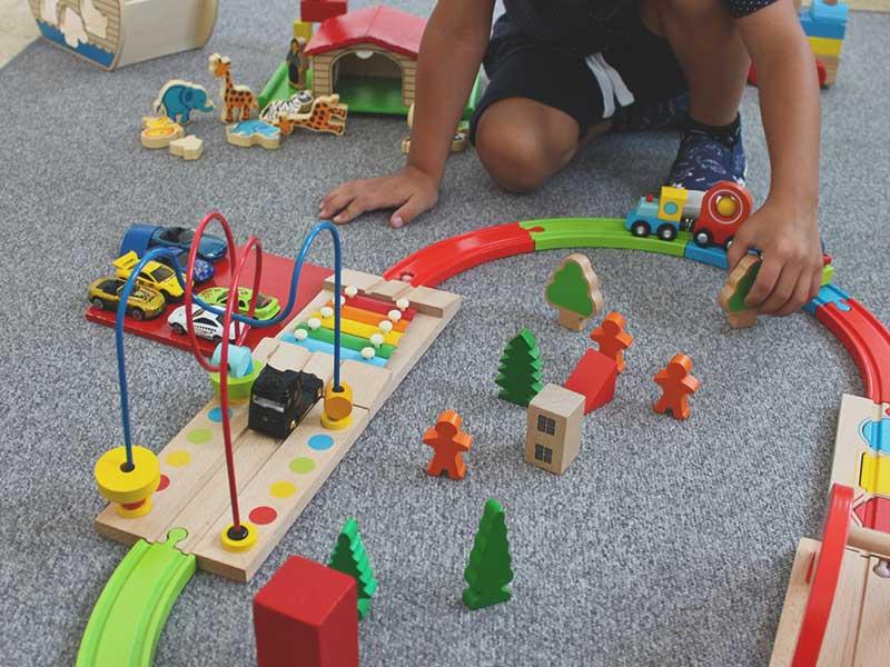 Spielzeugautos mit der Tagesmutter in Ulm