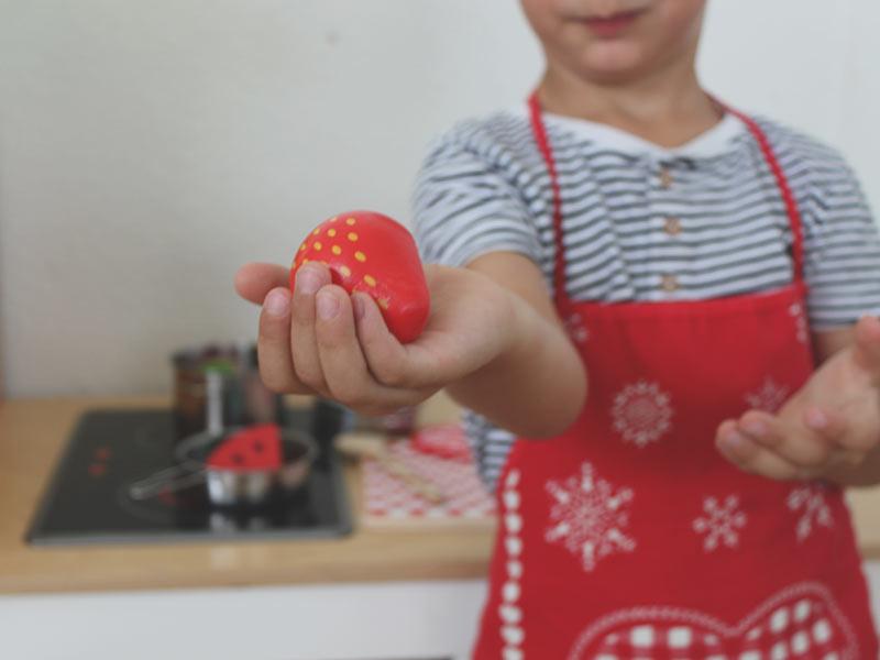 Die Spielzeugküche des Elfennests